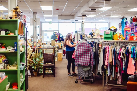 Shop at Treasure Trunk Community Thrift